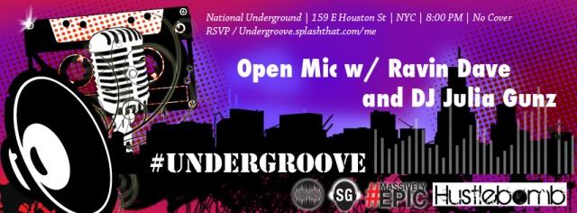#Undergroove Week 2